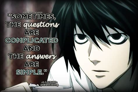 L Quotes l lawliet anime and quotes