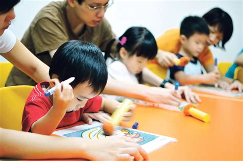 child in more parents enrolling children in pre school enrichment