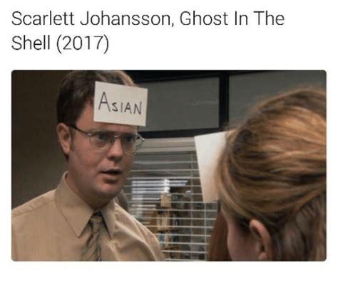 Ghost In The Shell Meme - scarlett johansson ghost in the shell 2017 sian dank