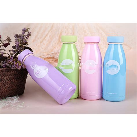 Botol Minum Plastik Milk Insulation Cup 360ml Murah botol minum plastik milk insulation cup 360ml sm 8396