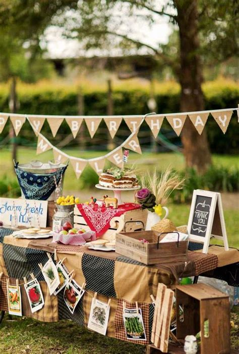 themed birthdays ideas kara s party ideas farm themed birthday party via kara s