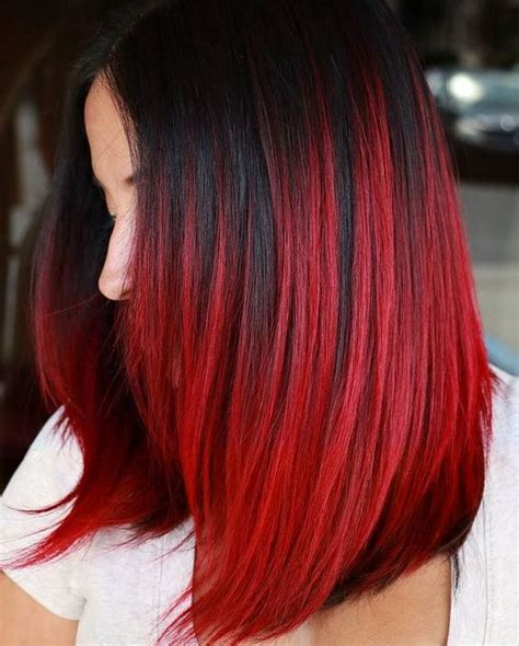 black hairstyles red hair 26 bright red hair ideas to make a statement styleoholic