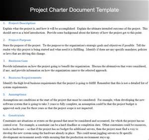 project management document templates project charter templates word and pdf