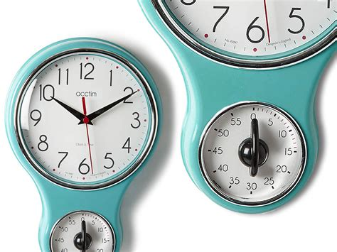kitchen clocks retro clocks for kitchen reversadermcream com