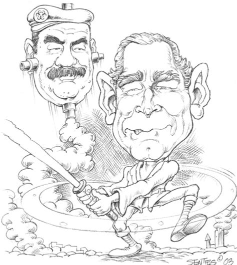 george w bush coloring page coloring pages