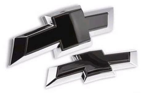 2014 2015 camaro insert black bowtie emblem chevymall