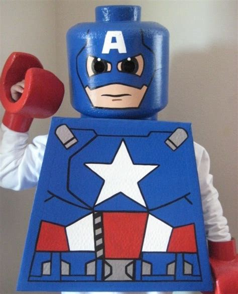 tutorial cosplay lego 25 best ideas about captain america halloween costume on