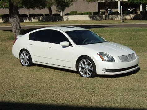 white nissan maxima 2005 2005 nissan maxima a34 pictures information and specs