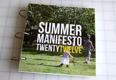 Creative Manifesto By Ali Edwards by Ali Edwards Design Inc Bringing The Summer