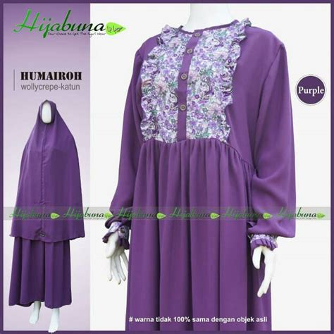Gamis Hijabuna Gamis Hijabuna Humairoh Toko Muslim Title