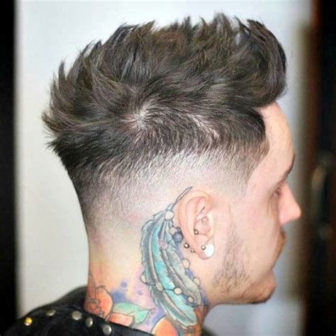 Short Haircut Mens Tutorial – shaved nape, high fade, slicked   Nice Napes   Pinterest