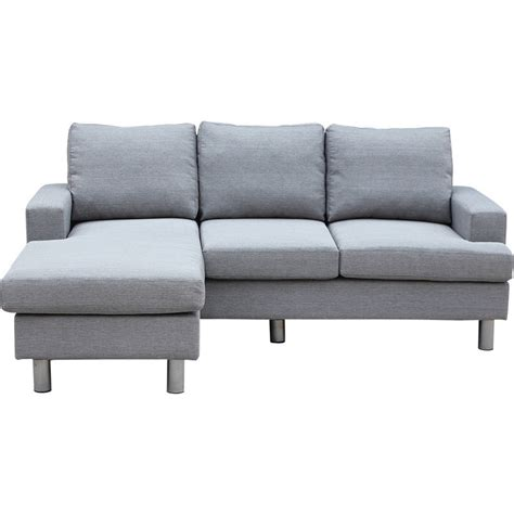 Lambeth Reversible 3 Seat Chaise Lounge Sofa Grey Buy Sofas Sofa With Reversible Chaise Lounge
