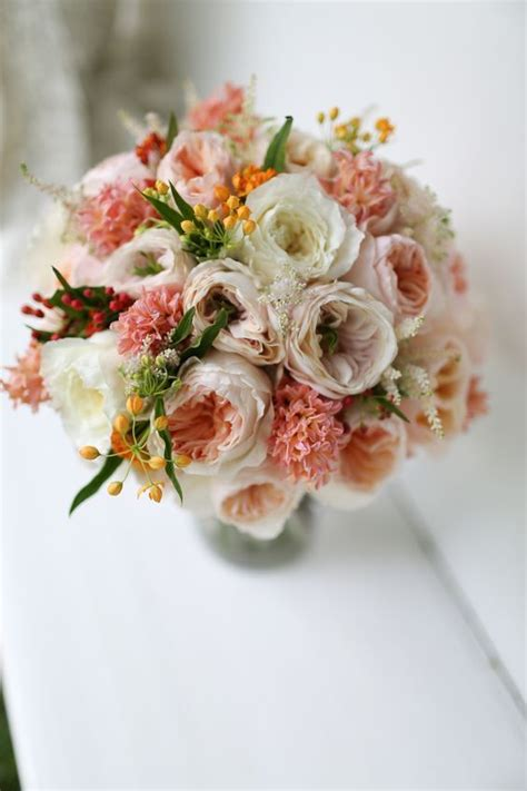 david austin mixed pink bridal bouquet 20 bouquets with david austin roses you ll love
