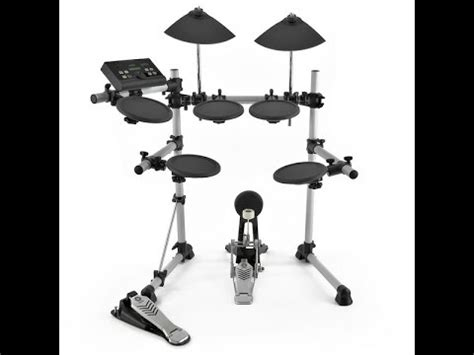 yamaha dtx500 electric drum set review youtube
