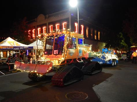 parade of lights chico chico community sparkles in electric light parade the orion