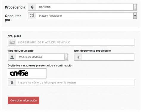 runt runt personal runt colombia informacion consulta y registro runt por placa colombia newhairstylesformen2014 com