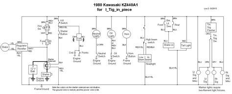 kick start wiring diagram kawasaki free wiring