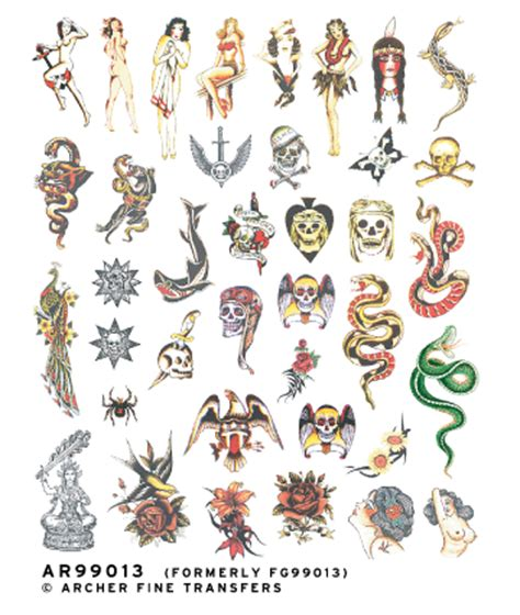 small old school tattoos ar99013
