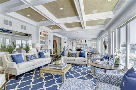 Blue And White Rooms Living Rooms by 45 Beautifully Decorated Living Rooms Pictures