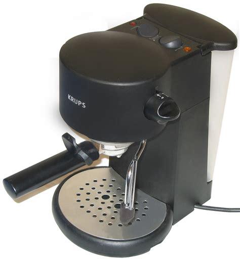 file krups vivo f880 home espresso maker jpg wikimedia