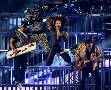 bastille rudimental ft ella eyre so much energy ella eyre sure was excited to perform at