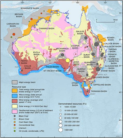 australia resource map resource map of australia my