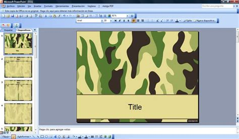 powerpoint templates free military free army ppt powerpoint template military