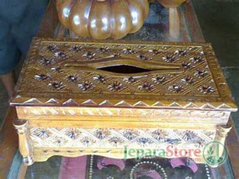 Kotak Tissue Scraft 01 kotak tisu kayu jepara store toko mebel pusat furniture jati jepara berkualitas
