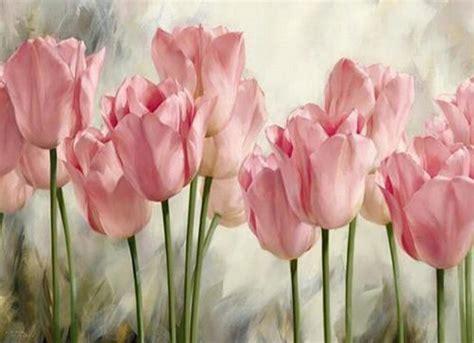 Bordir Bunga Tulip seri bunga berlian bordir tulip diy berlian lukisan bunga