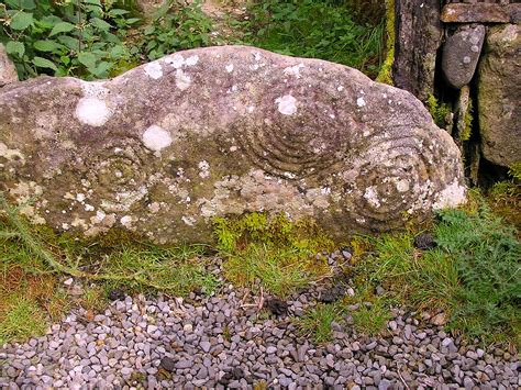 Interior Themes spiral stone interior petroglyphs loughcrew chambered