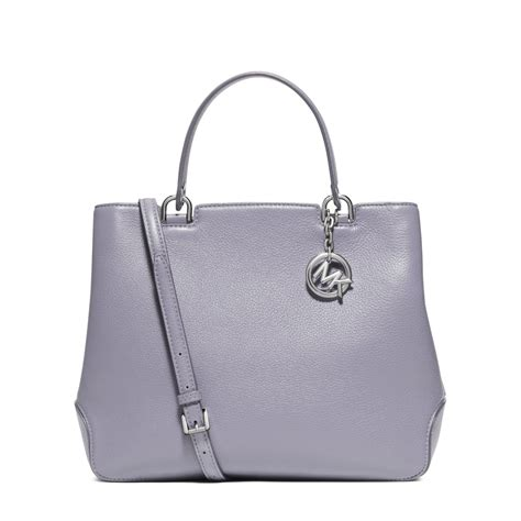 Roberta Roller Rabbit by Michael Kors Anabelle Large Leather Tote In Purple Lyst