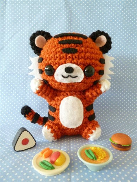 amigurumi pattern tiger crochet tiger crochet amigurumis pinterest