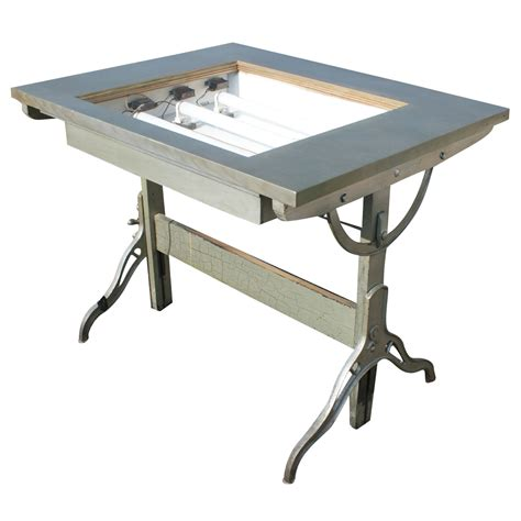 Light Drafting Table Midcentury Retro Style Modern Architectural Vintage Furniture From Metroretro And Mcm Consignment