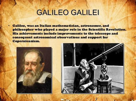 biography of galileo galilei resume life accomplishments jackie robinson power point trabajo