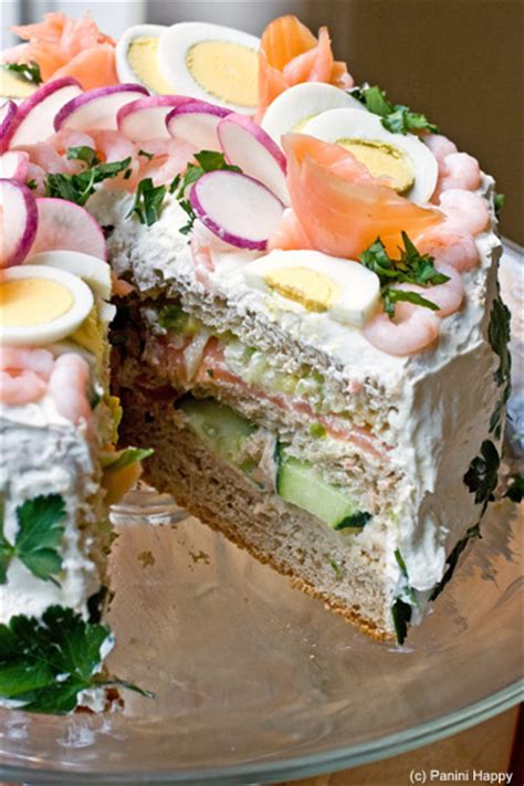 smorgastarta swedish sandwich cake panini happy 174