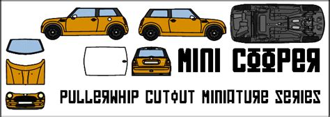 Mini Cooper Papercraft - mini cooper by pullerwhip on deviantart