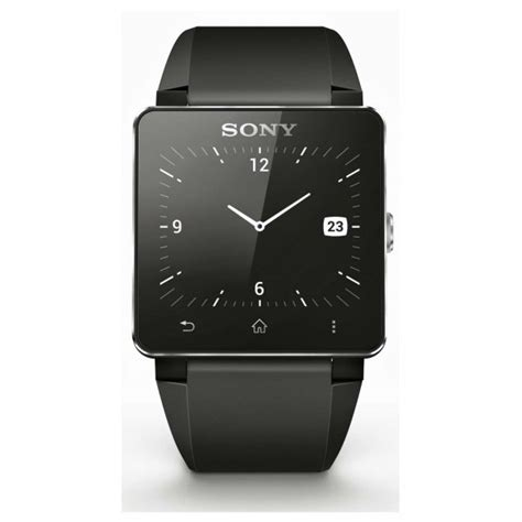 Sony Smartwatch 2 Sw2 Rubber Wristband sony sw2 smartwatch 2 bluetooth water resistant android black silicon wristband ebay