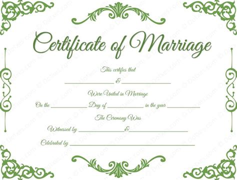 How Do You Find Marriage Records For Free 34 Best Printable Marriage Certificates Images On
