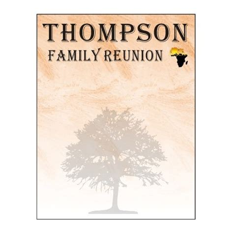 African American Black Monogrammed Family Reunion Invitations Template 4 Family Reunion Family Reunion Templates