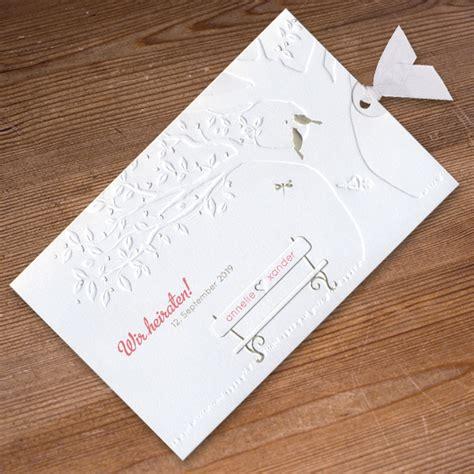 Hochzeitseinladung Romantisch by Hochzeitseinladungen Drucken Wir Drucken Eure Texte In