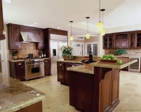 kitchen ideas cherry cabinets pictures of kitchens traditional wood kitchens