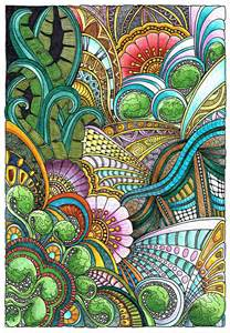 angela porter s psychedelic nature mandalas and patterns