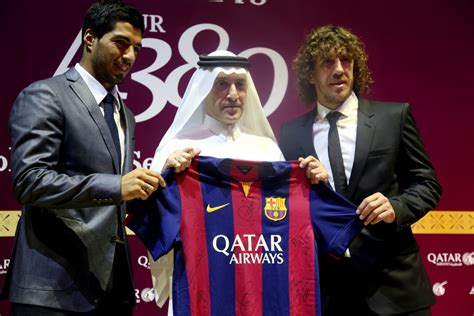 barcelona qatar barcelona news amazon fighting qatar airways to be club s