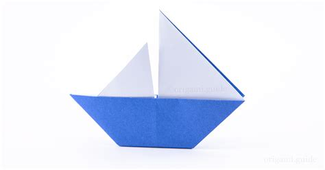 origami boat that sails how to make an origami sail boat origami guide