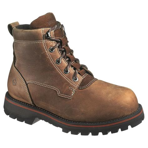 wolverine steel toe boots s wolverine 6 quot malone waterproof 400 gram thinsulate