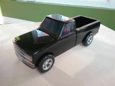 chevy truck replica pinewood derby build  topic gm