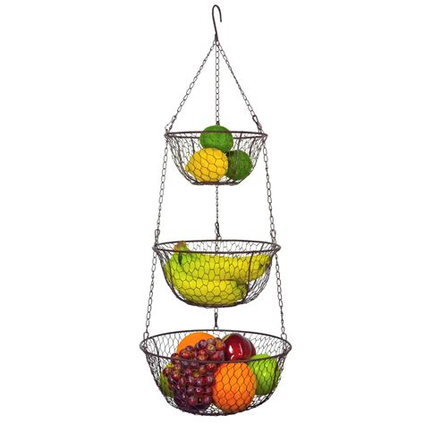 Simple Ideas For Hanging Wire Basket Simple Ideas For Hanging Wire Basket 19032