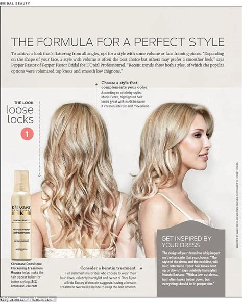 online hairstyle magazines chloe lattanzi models bridal hairstyles for beauty