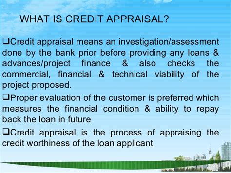 Mba Finance Project On Credit Appraisal by Credit Appraisal In Banking Sector Ppt Bec Doms