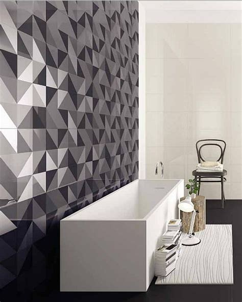 Shower Bath Combinations 25 creative geometric tile ideas that bring excitement to